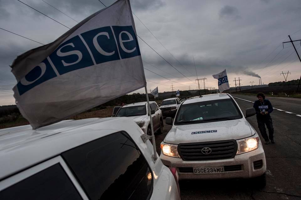 Explosion of the OSCE mission. Reactions of the parties
