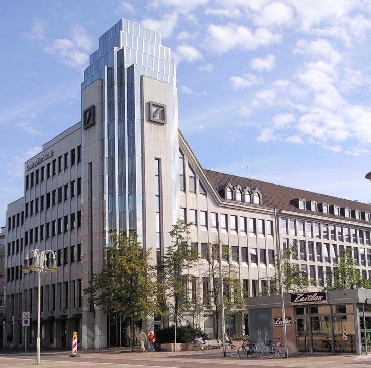 Deutsche Bank is in debt up to the neck